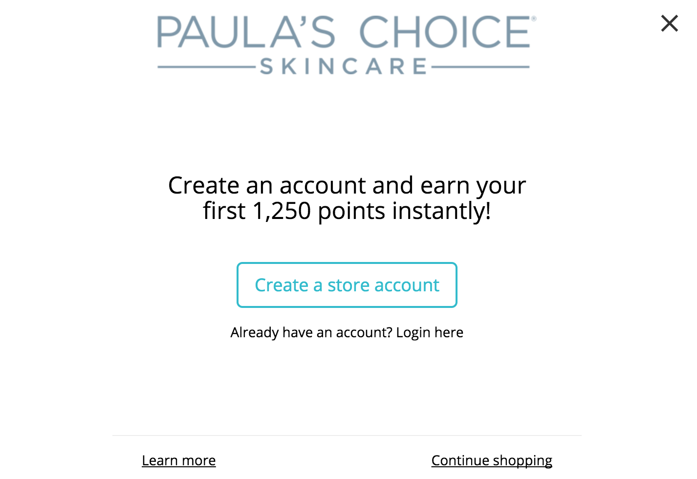 Shop/customer/account/login - New Customer Account Sign Up